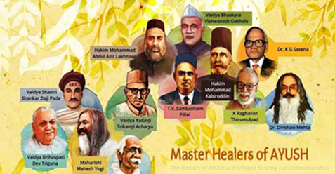 Master Healers of AYUSH